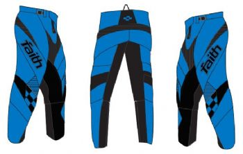 Faith Race Pants Blue Adult